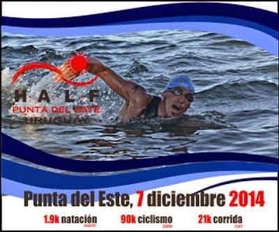 Triatlón. Half en Punta del Este (07/dic/2014)
