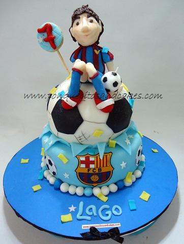 Para Festejar Los Siete Anos De Lago Super Fans Del Barca Y De Messi