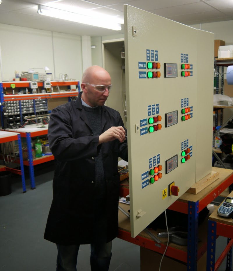 Bespoke Panel Building at Bell Flow Systems