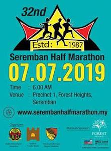 Seremban Half Marathon 2019 - 7 July 2019