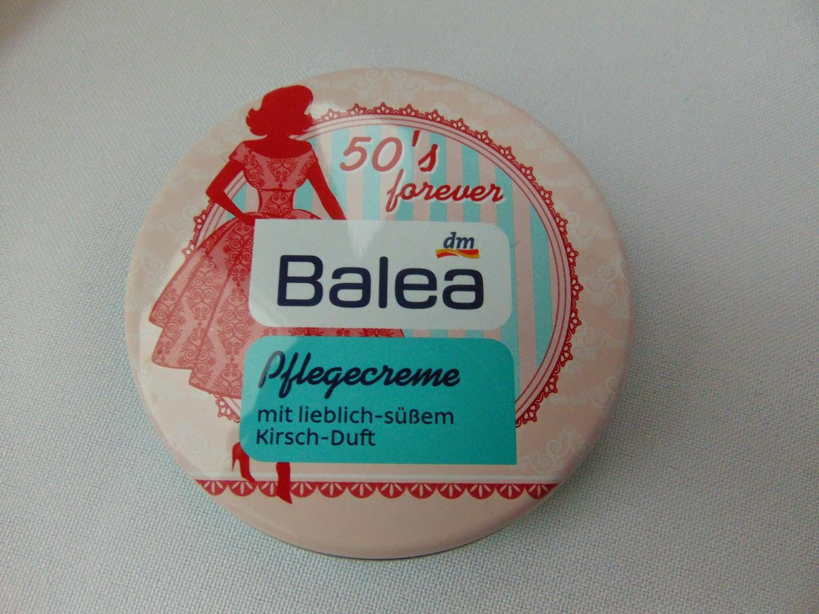 Balea Pflegecreme - 50's Forever - www.annitschkasblog.de