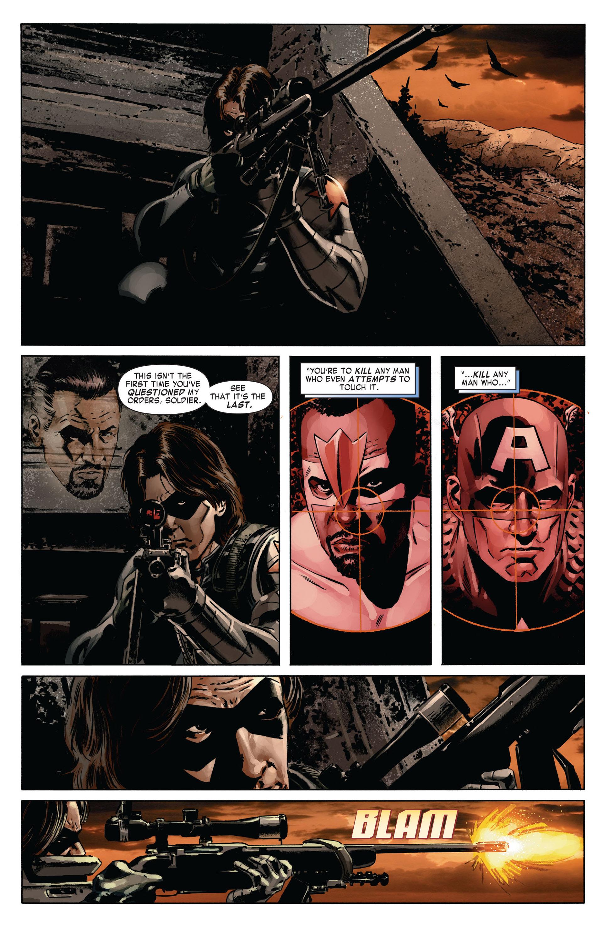Captain America (2005) Issue #13 #13 - English 23