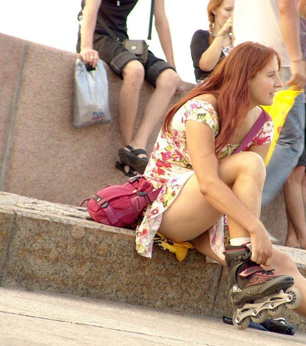 very young girls upskirt