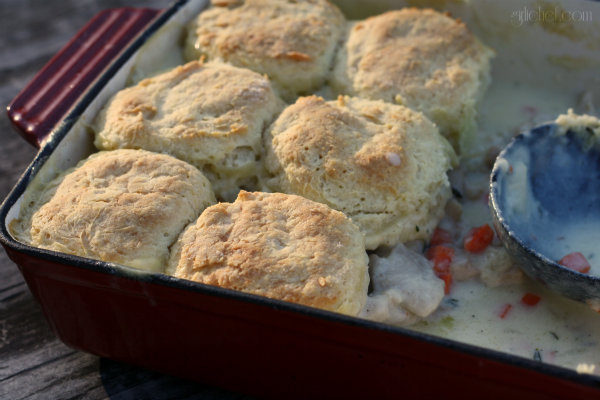 Chicken 'n Biscuits (Chicken Pie)