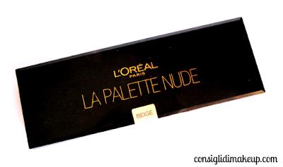 Review: La Palette Nude in 02 Beige - L'Oreal Paris