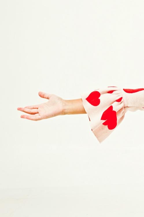 hearts sleeve