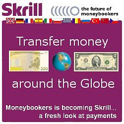 Send Herbalife funds anywhere with SKRILL