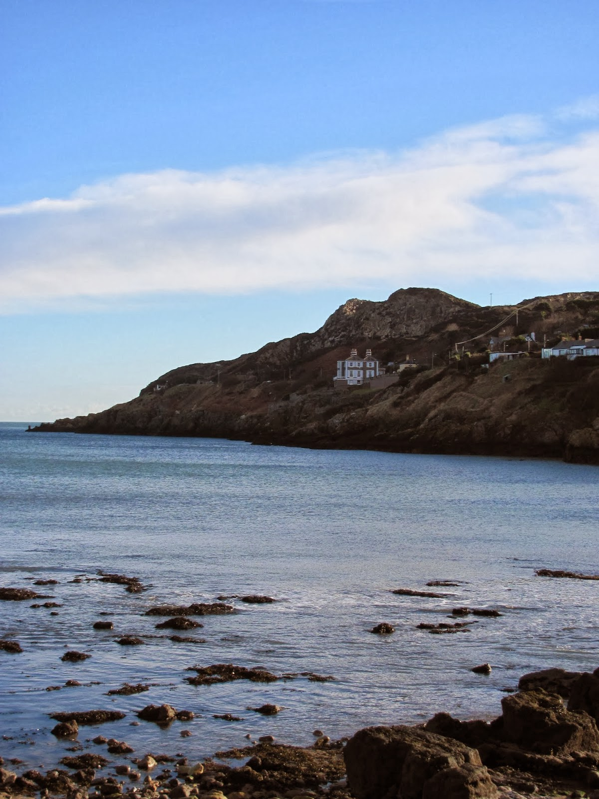 Howth Head seen from sea level