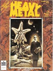 'Heavy Metal' magazine October 1979