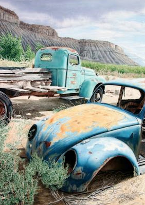 carro-antiguo-pintura-oleo