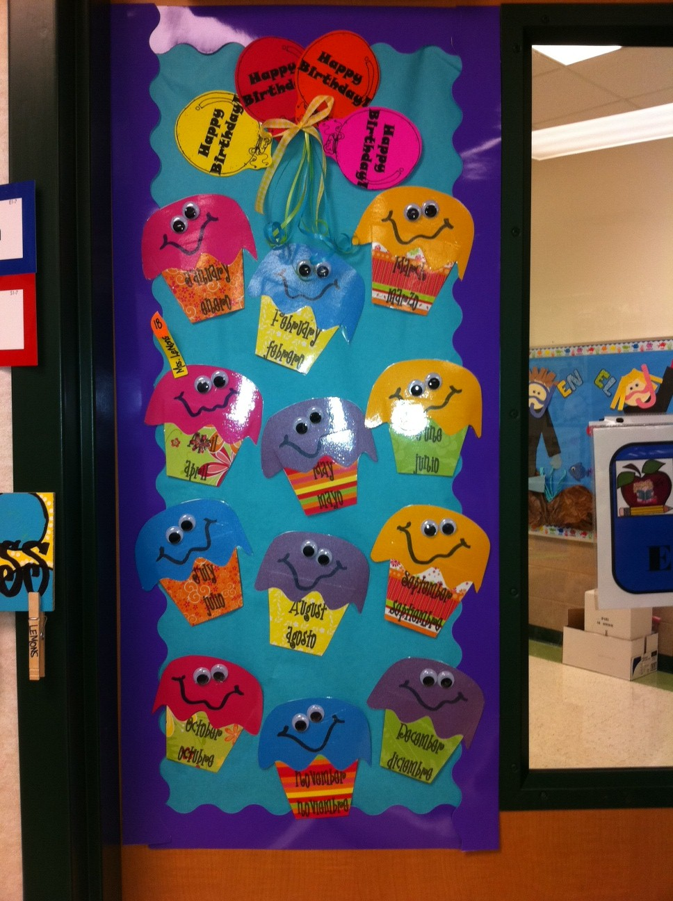 Classroom Birthday Ideas ~ Birthday theme classroom on pinterest