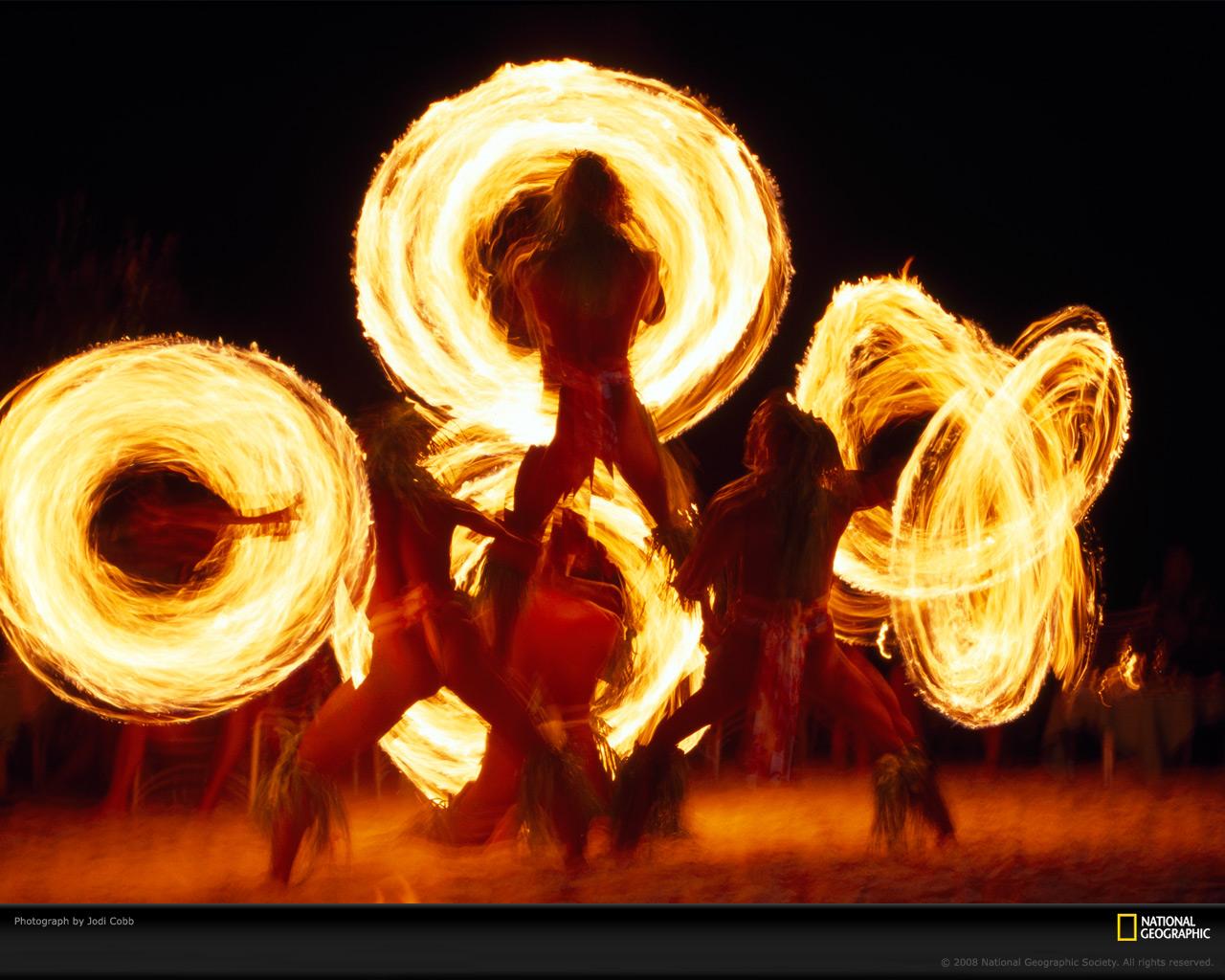 Fire dancing gif