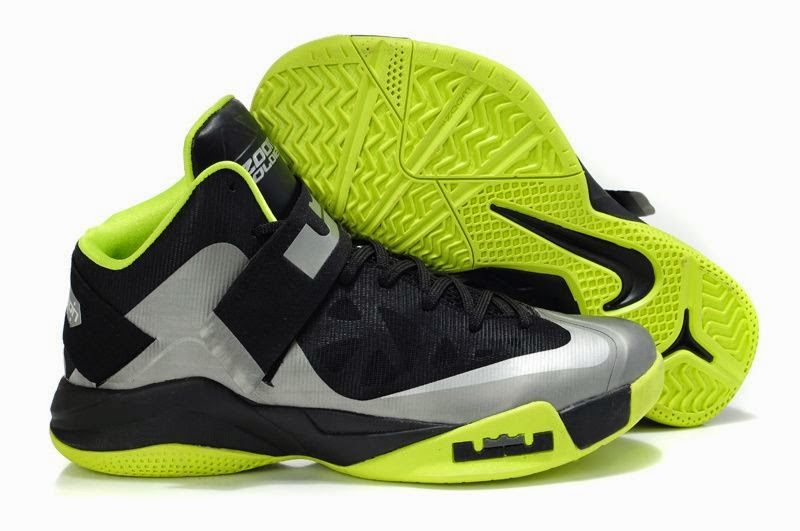 Nike Zoom Lebron Soldier 6  VI  White Black Basketball Shoes
