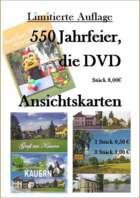 550Jahrfeier, die DVD.