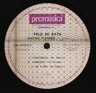 Matias Pizarro: Pelo de rata (1975)