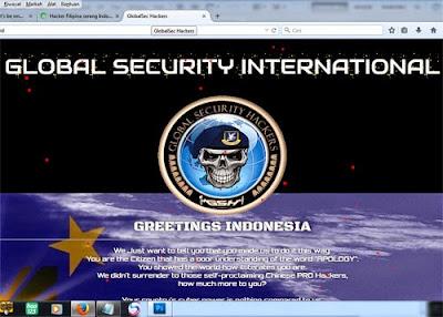 Tampilan website RONALD saat dihack  Saya liat pada tanggal 4 Mei 2015 pukul 22.30 WIB