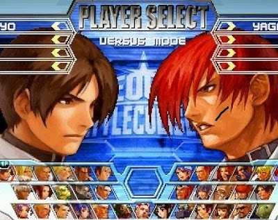 All characters of king of fighters