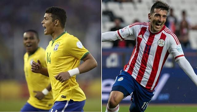 Brasil vs Paraguay en vivo