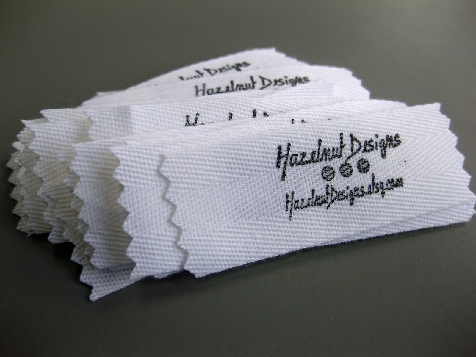 Pear tree stitching how to make fabric labels for Create fabric labels