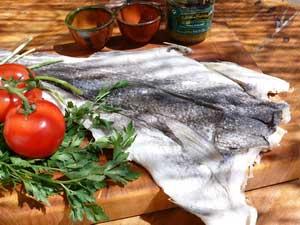 salted spanish cod