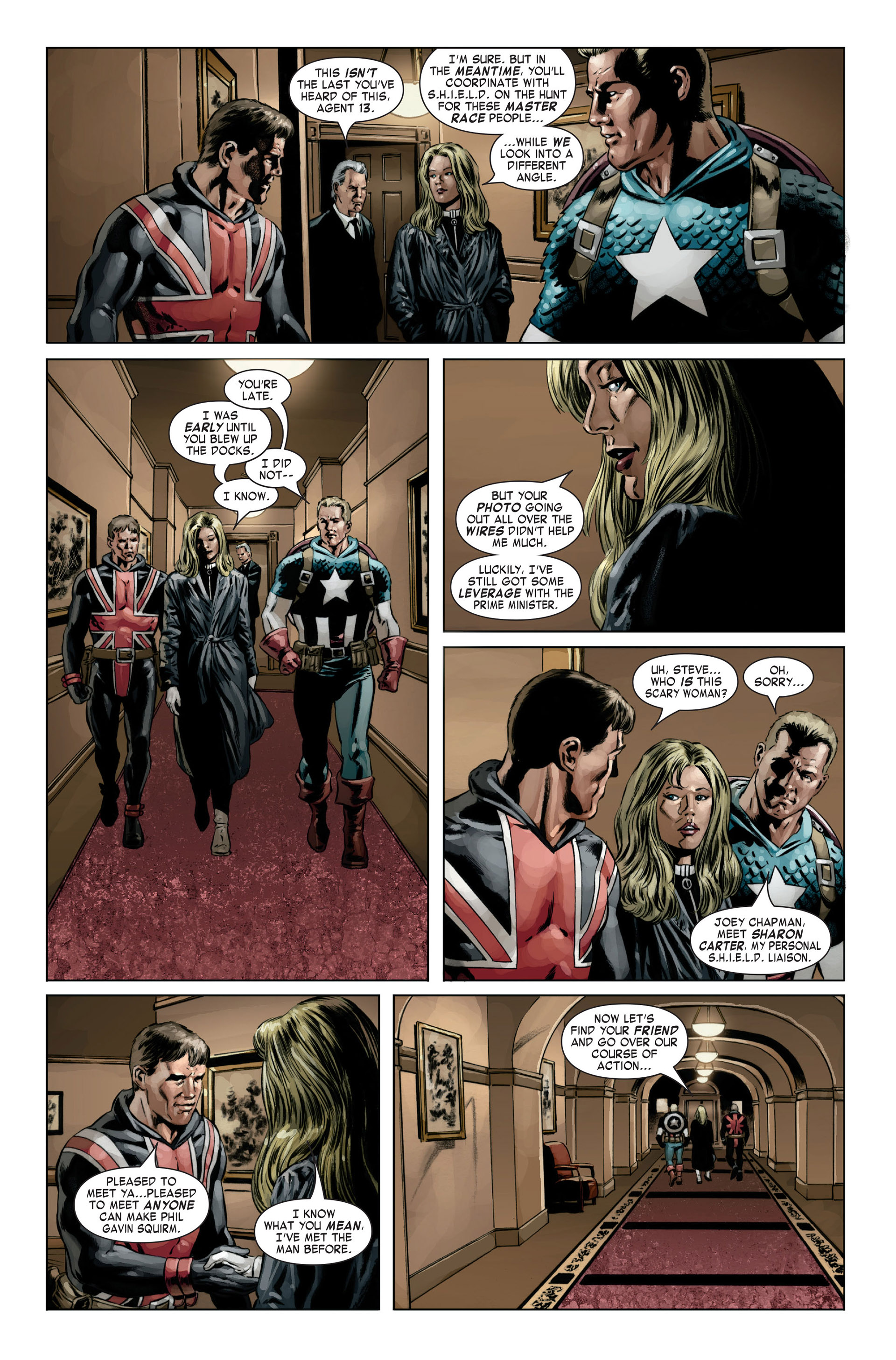 Captain America (2005) Issue #19 #19 - English 13