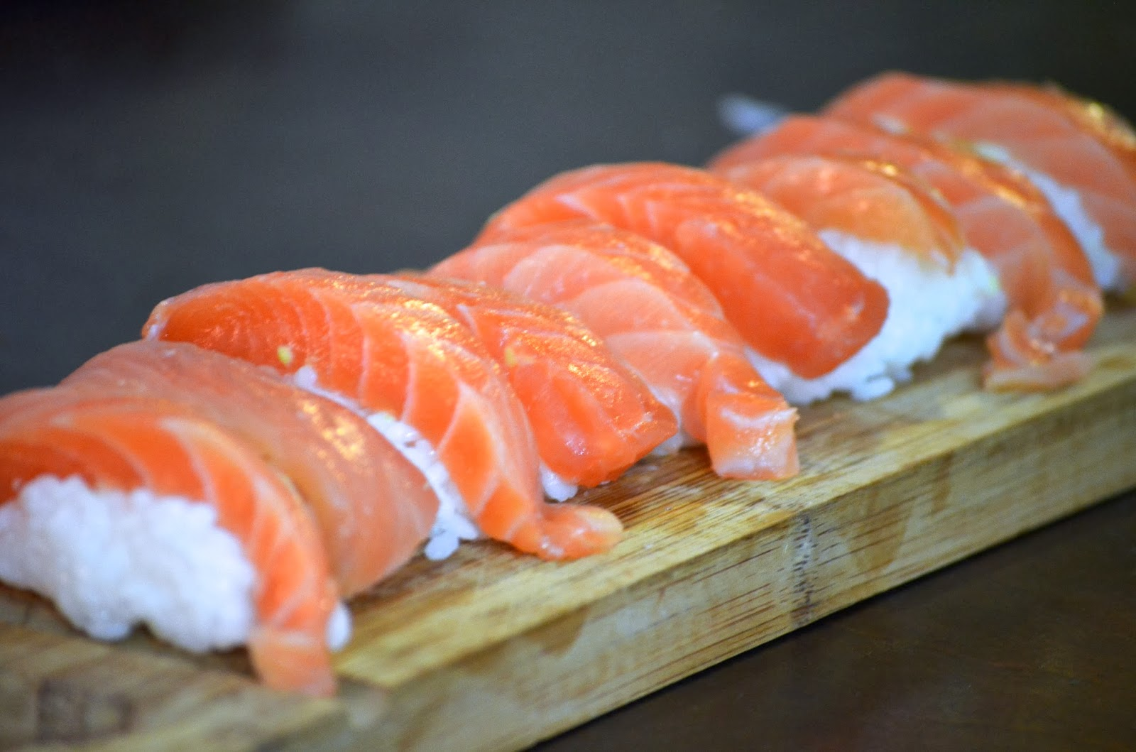 Salmon sashimi from costco obsessive cooking disorder for How to freeze fish