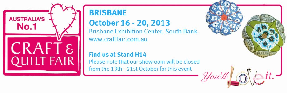 Voodoo rabbit fabric brisbane quilt and craft fair starts for Quilt and craft show
