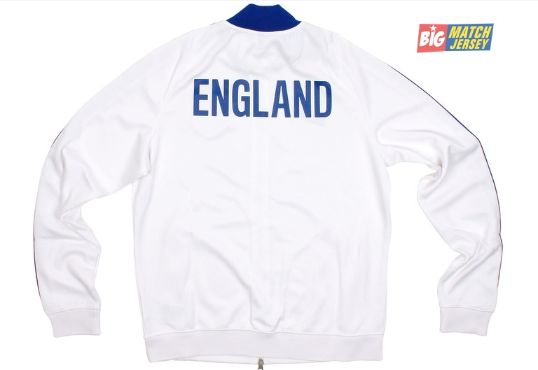 Jaket Bola Timnas Inggris Putih 2013-2014 - Kaos Jersey Bola