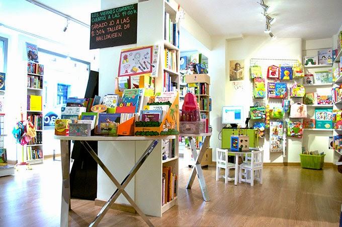 Bibliotecas para niños Madrid - Liberespacio