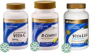 set vitamin asas shaklee