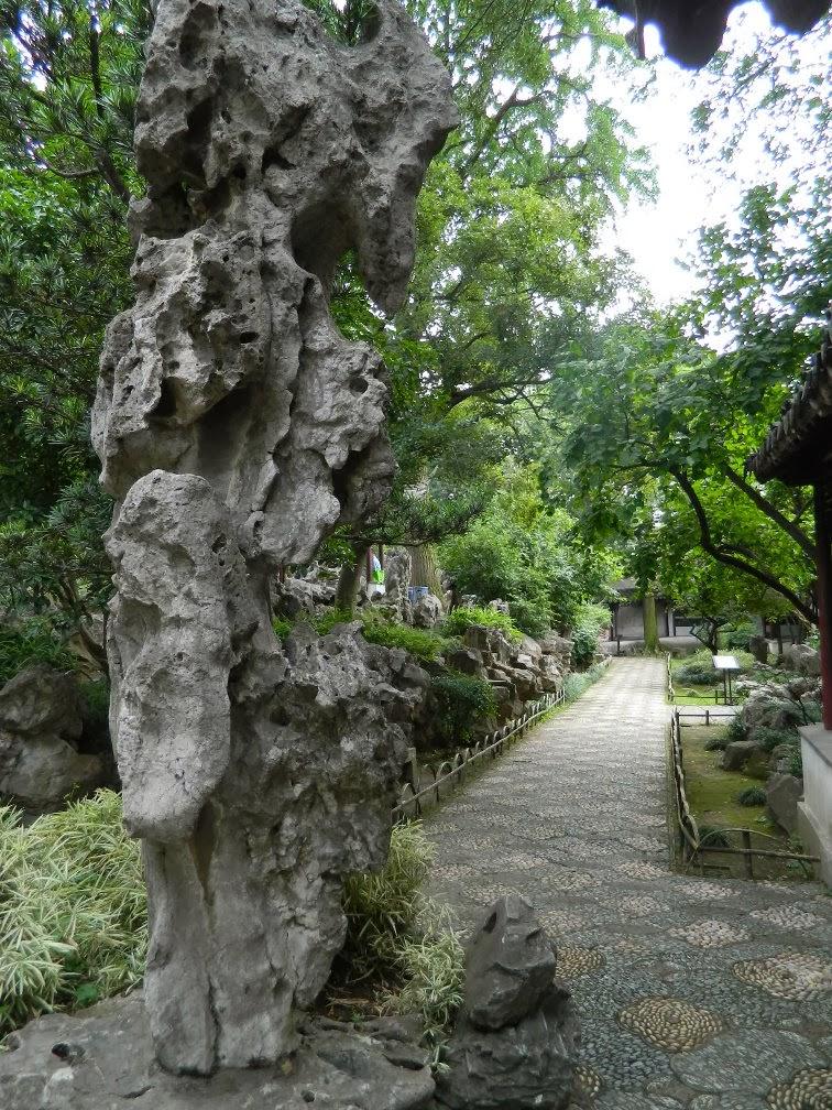 Lingering Garden Suzhou rock by garden muses-Toronto gardening blog