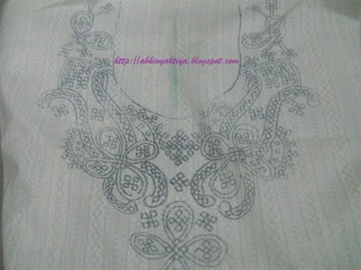 design for tracing sindhi embroidery(kutch embroidery) on cloth