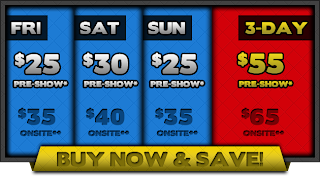 ALL C2E2 2013 Tickets go on Sale TODAY at Noon