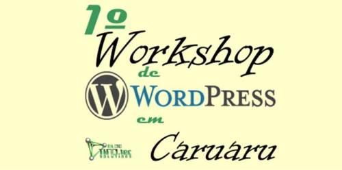 Workshop sobre WordPress em Caruaru