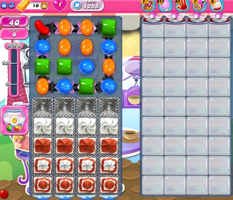 Candy Crush Saga 1255