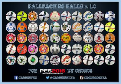 PES 2016 Ballpack