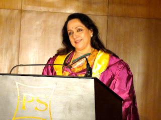 Dream Girl Hema Malini is now Dr. Hema Malini