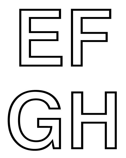 Alfabeto Letras Letras do Alfabeto Para