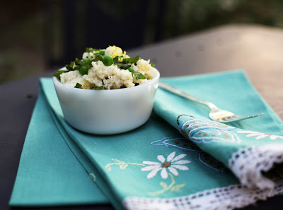 Mint Chevre Couscous