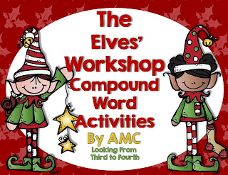 http://www.teacherspayteachers.com/Product/Compound-Word-Activity-Elves-Workshop-980824