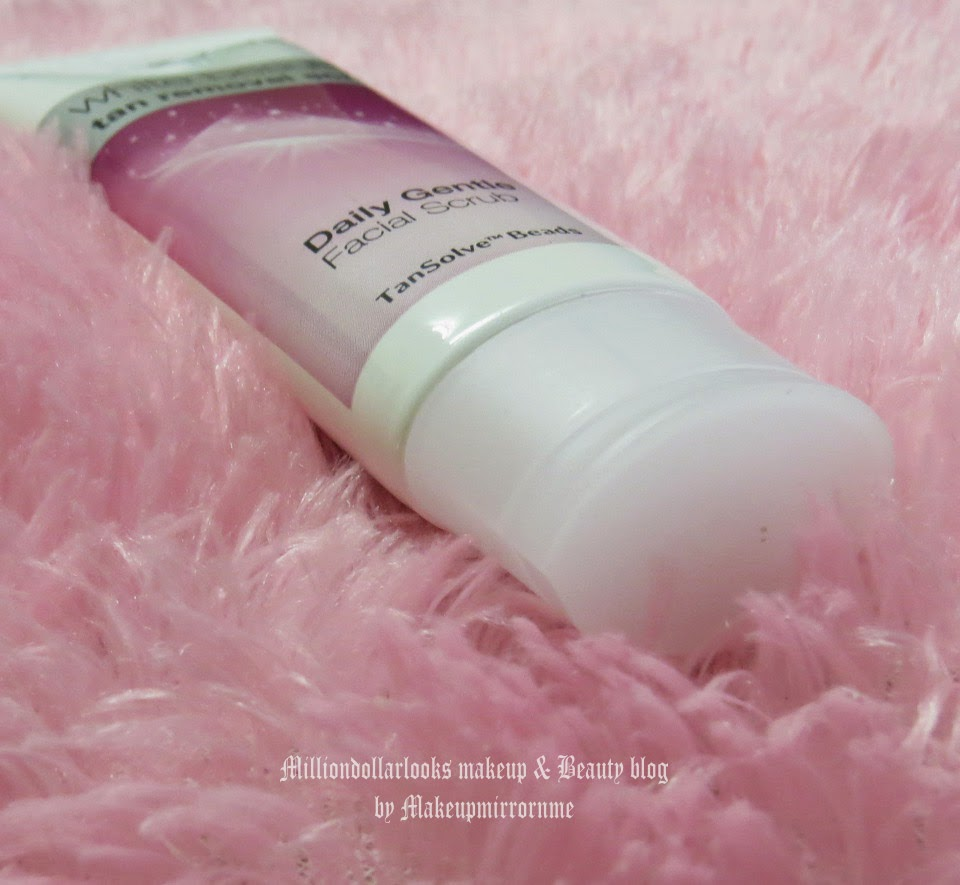 Pond's White beauty tan removal scrub review and pictures, How to remove tan, Tan removal tips at home, How to get clear skin, Products that remove tan, Indian makeup and beauty blog, Indian beauty blogger, Facial scrub, Daily gentle facial scrub, Milliondollarlooks makeup and beauty blog by Makeupmirrornme, Pond's white beauty range in India and price