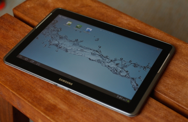display quality specs Samsung Galaxy Tab 2 10.1 P5100