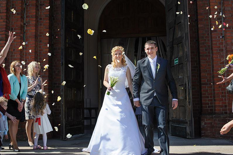 Vestuvės Plungės bažnyčioje