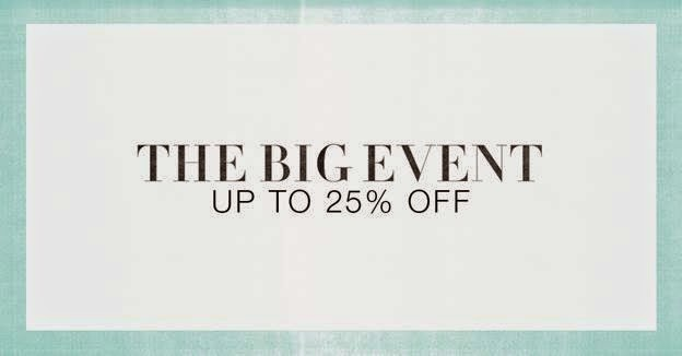 BIG EVENT SALE