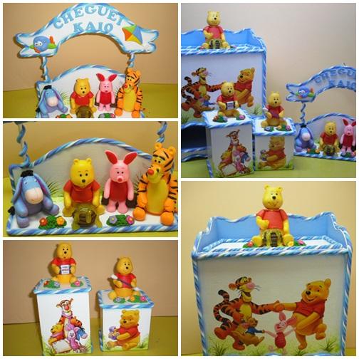 Cida Ynoue  Kit quarto de bebe ursinho Pooh
