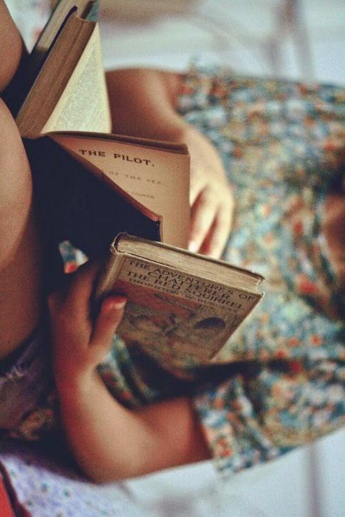 Los libros abren los ojos.