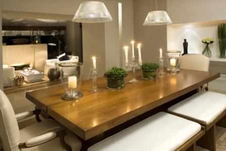 Mesas de jantar aninteriores for Mesas rusticas grandes