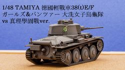 1/48 GuP 德國輕戰車38(t) E/F
