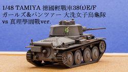 1/48 GuP 德國輕戰車38(t) E/F
