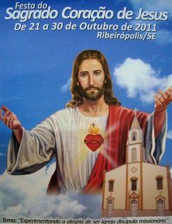 Festa do Sagrado Coração de Jesus em Ribeirópolis.